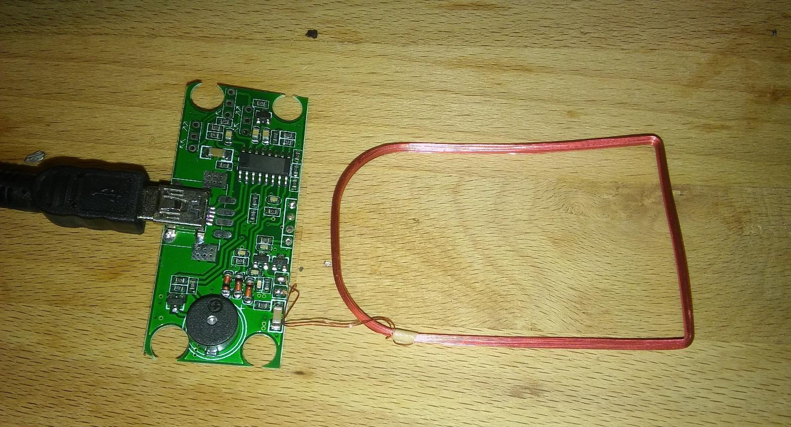 Using the Raspberry Pi with usb RFID readers | BioMech XYZ